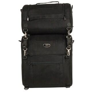 Large Textile Combo 2-piece Sissy Bar Bag