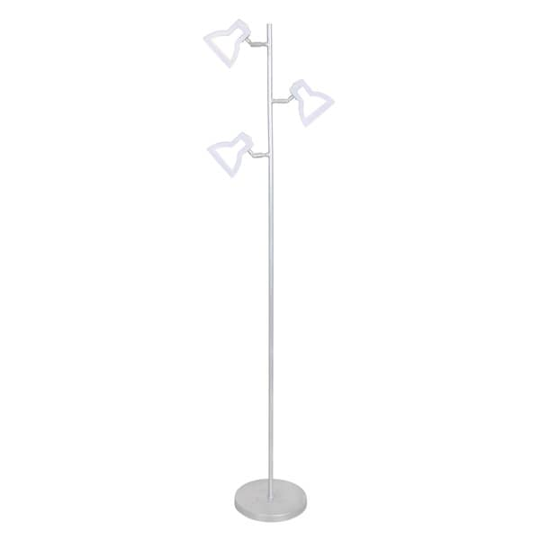 2D Contemporary LED Tree Floor Lamp by LumiSource