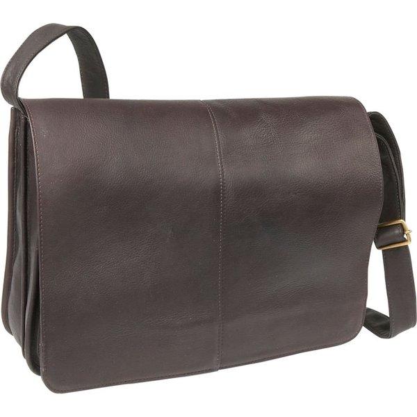 Shop Ledonne Leather Quick Access Messenger Bag On Sale