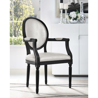 Philip White Dining Arm Chair