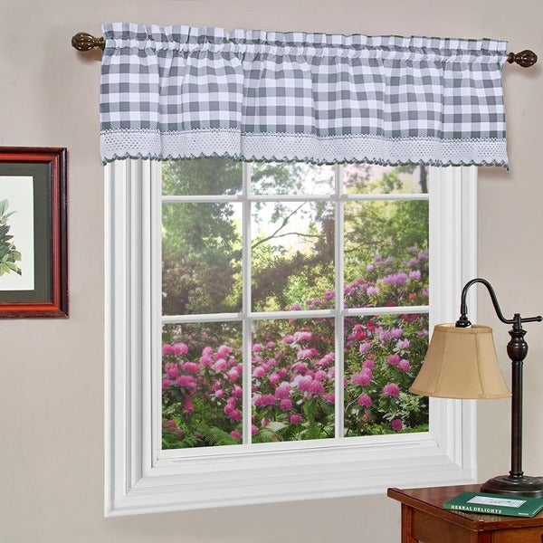 Achim Buffalo Checkered Valance. Opens flyout.