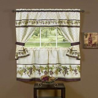 Achim Tuscany Window Curtain Cottage Set