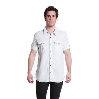 Excelled Men's Short Sleeve Woven Shirt