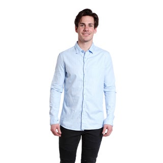 Excelled Men's Solid Basic Woven
