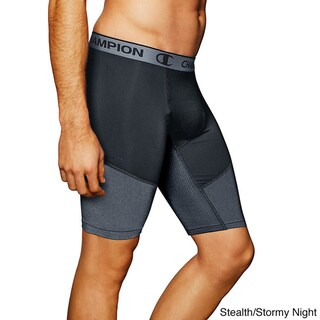 Champion PowerFlex 9 Inch Inseam Men's Solid Compression Shorts