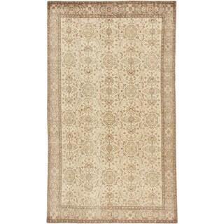 ecarpetgallery Anatolian Sunwash Beige Wool Rug (6'1 x 10'2)