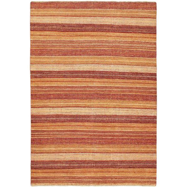 ecarpetgallery Finest Ziegler Chobi Orange Wool Rug (6'5 x 9'4)