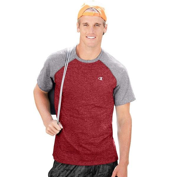 fc4347e462ae Shop Champion Vapor Cotton Men's T-Shirt - Free Shipping On Orders ...