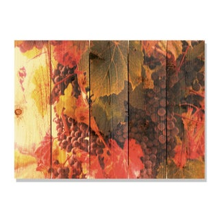 Select Vintage -33x24 Indoor/Outdoor Full Color Cedar Wall Art