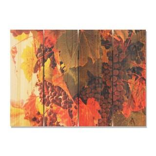 Select Vintage -22.5x16 Indoor/Outdoor Full Color Cedar Wall Art