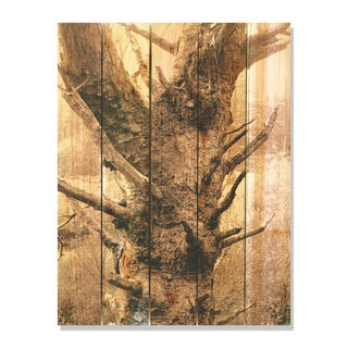 Still Standing -28x36 Indoor/Outdoor Full Color Cedar Wall Art