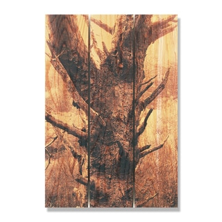 Still Standing -16x24 Indoor/Outdoor Full Color Cedar Wall Art