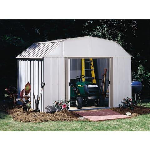 Arrow Lexington LX108-A Galvanized Steel Storage Shed (10' x 8')