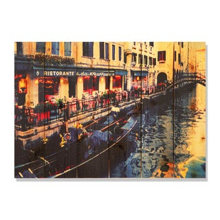 Raffael's Restorante -33x24 Indoor/Outdoor Full Color Cedar Wall Art