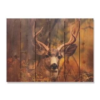 Perfect Look -33x24 Indoor/Outdoor Full Color Cedar Wall Art