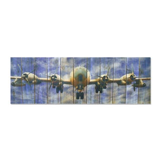 Super Fortress - 60x20 Indoor/Outdoor Full Color Cedar Wall Art