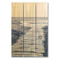 Short Boards 16x24 Indoor/Outdoor Full Color Cedar Wall Art