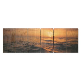 Days End 32x11 Indoor/Outdoor Full Color Cedar Wall Art