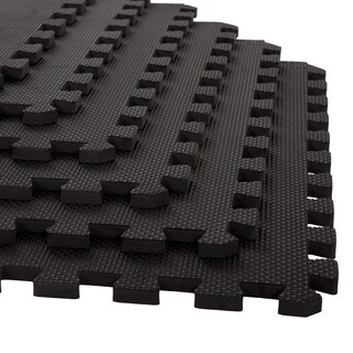Stalwart Interlocking EVA Foam Floor Mats