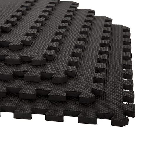 Stalwart Interlocking EVA Foam Floor Mats