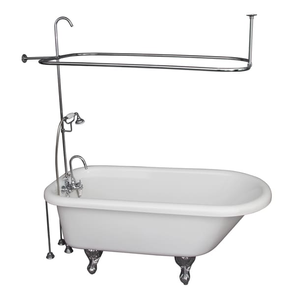 Acrylic Shower and Tub Kit by Barclay - Free Shipping Today ...