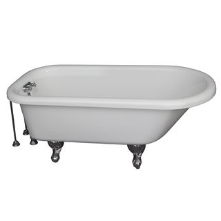 60-inch x 24.5-inch Soaking Bathtub Kit