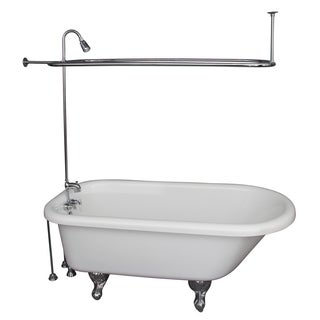 67-inch x 29.5-inch Soaking Bathtub Kit