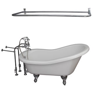 60-inch Double Acrylic Tub