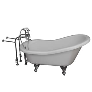 67-inch Double Acrylic Tub
