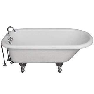67-inch x 29.5-inch Soaking Bathtub Kit
