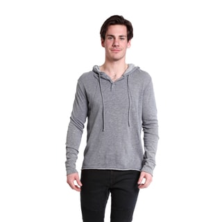 Excelled Men's Long Sleeve Pull Over Hoodie