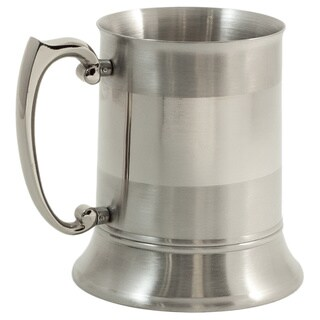 Bailey Stainless Steel Pint Glass