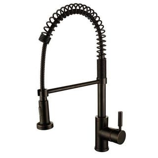 Y-Decor Foreman Single Handle Oil Rubbed Bronze Kitchen Faucet|https://ak1.ostkcdn.com/images/products/11673015/P18601066.jpg?impolicy=medium