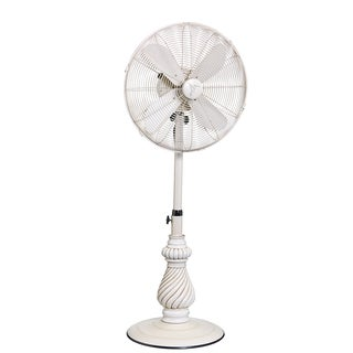 Providence White Outdoor Fan
