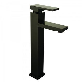 Dana Oil Rubbed Bronze Finish Single Handle Vessel Bathroom Faucet