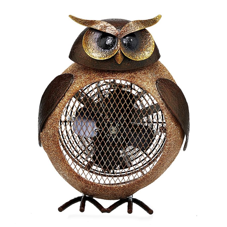 Deco Breeze Owl Figurine Heater Fan (Heater Fan - Owl), B...