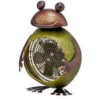Frog Figurine Heater Fan