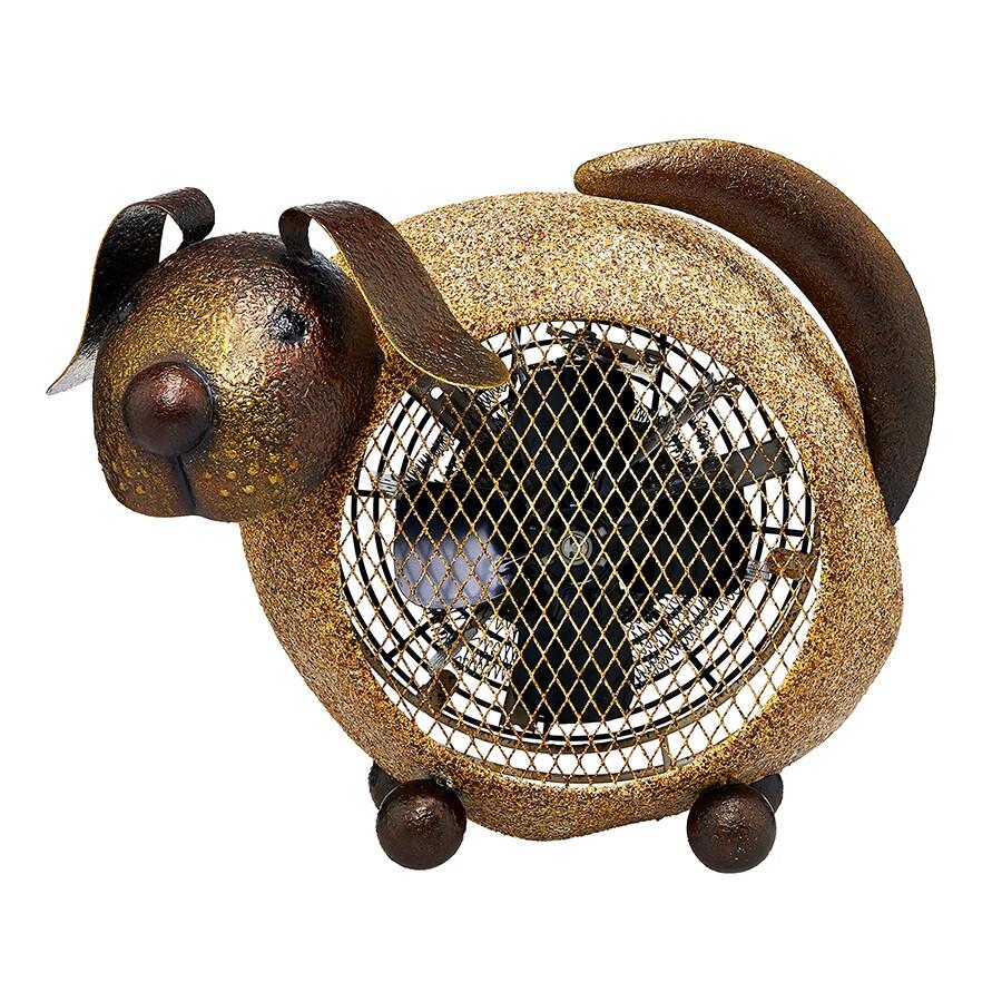 Deco Breeze Dog Figurine Heater Fan (Heater Fan - Dog), G...
