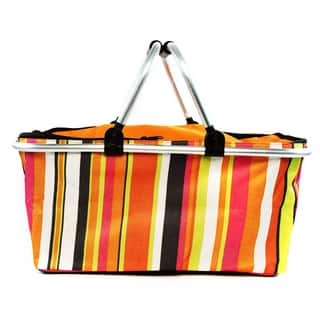 Insulated Folding Picnic Basket / Cooler with Handles|https://ak1.ostkcdn.com/images/products/11673174/P18601184.jpg?impolicy=medium