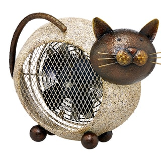 Cat Figurine Heater Fan