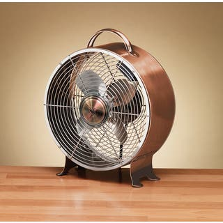 Copper Finish Retro Metal Fan|https://ak1.ostkcdn.com/images/products/11673309/P18601450.jpg?impolicy=medium