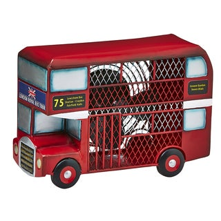 Double Deck Bus Figurine Fan