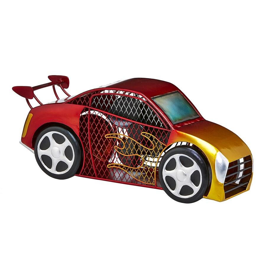 Deco Breeze Race Car Figurine Fan (Fan - Race Car), Red (...