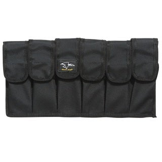 Galati Gear Six Pack Mag Pouch w/ Velcro and Molle, Black