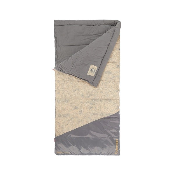 Coleman big n tall 30 sleeping bag tan fits up to 6ft 7in for Buro 600 6ft ups