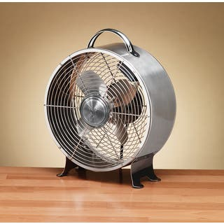 Staineless Steel Retro Metal Fan|https://ak1.ostkcdn.com/images/products/11673460/P18601449.jpg?impolicy=medium