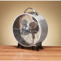 Shop Otto African Sapele Wood Industrial Fan Free