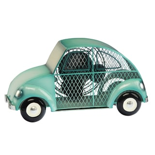 Blue Euro Car Figurine Fan