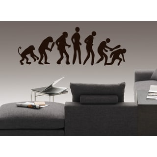 Evolution evolutionary chain Wall Art Sticker Decal