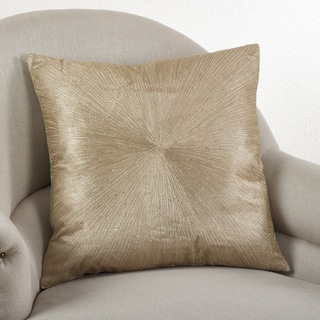 Starburst 20 Inch Down Filled Throw Pillow